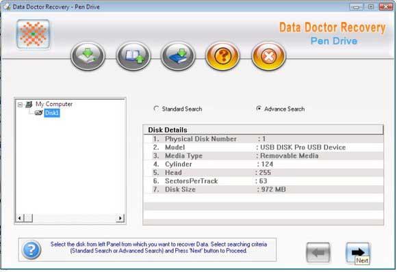 Pen Drive File Salvage Utility screenshot